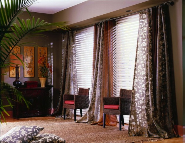 Window Treatments Enhance Your Point Of View Condo Owner