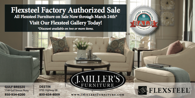 10% Off All Flexsteel Furniture At J. Millers Furniture