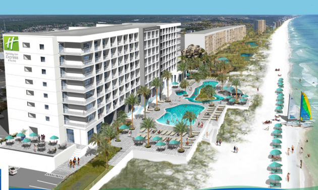 Panama City Beach Fla Many Tourists Visiting Florida Come To Stay Near The Sandy Beaches One New Hotel Is Offering Guests Direct