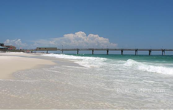 Okaloosa Island Beach Restoration Scred