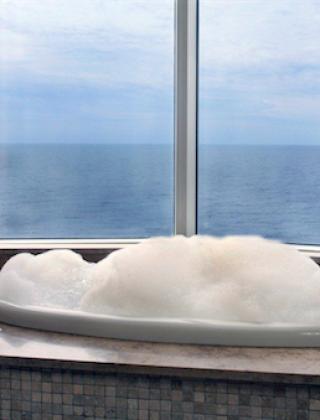 Master Bath With A View…